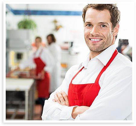 man smiling at christian drug rehab center