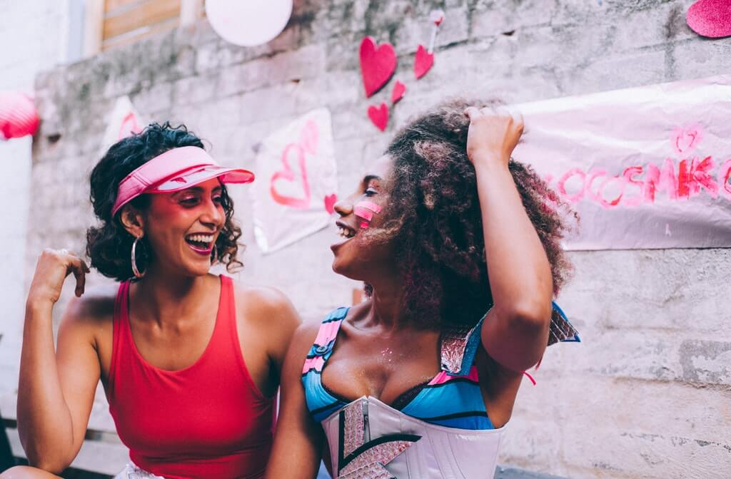 A photo of two women laughing together, how to prevent drug addiction relapse, addictions and recovery relapse, relapse prevention skills for drug addicts, addiction relapse prevention strategies